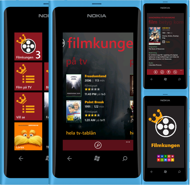 filmkungen mess My app Filmkungen published to the Windows Phone marketplace