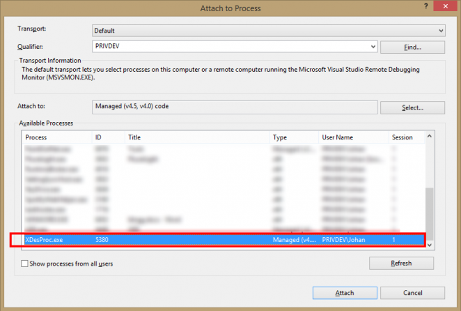 designtimeexceptiondebugging6 662x446 Visual Studio 2013 and Blend design time exception debugging