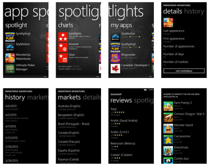 appsspotlight Your app featured in the Windows Phone Store